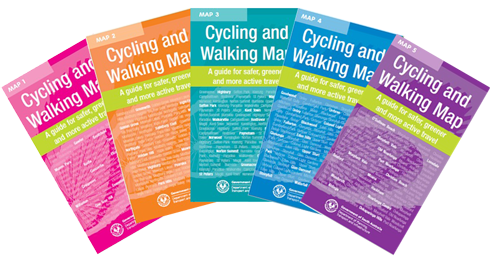 Way2Go Cycling and Walking maps